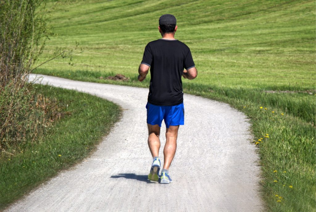 The Benefits of Brisk Walking