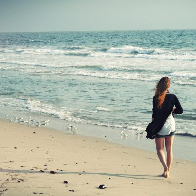 The Benefits of Walking on the Beach